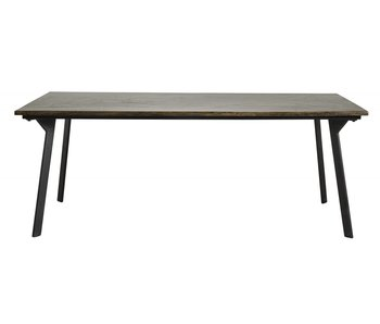 Nordal Chestnut dining table - brown
