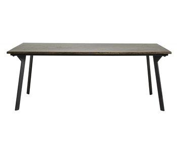 Nordal Spisebord i kastanje - brunt