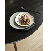 Nordal Ronde eettafel - zwart hout