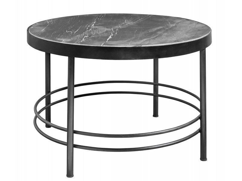 Nordal Midnight salontafel rond - zwart