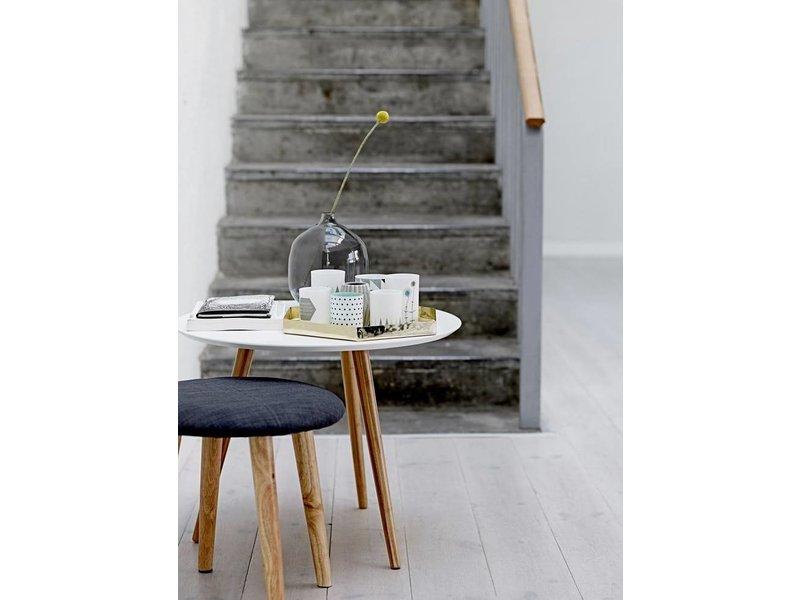 Bloomingville Cortado coffee table set of 2 grey bamboo