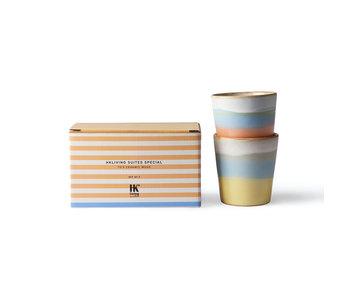 HK-Living Suites specials - ceramic 70's mug set