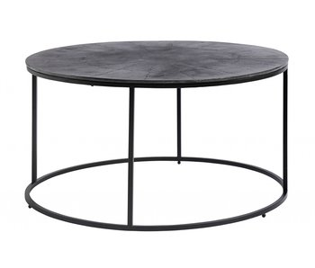 Nordal Coffee table round - black