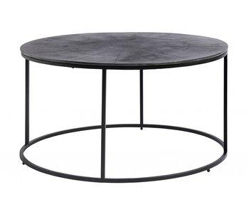 Nordal Table basse ronde - noir