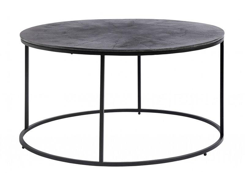 Nordal Salontafel rond - zwart