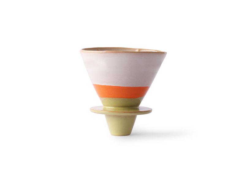 HK-Living Keramiskt 70-talets kaffefilter