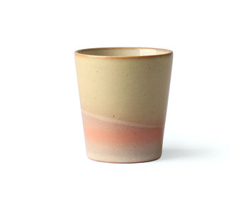HK-Living Tazze in ceramica anni '70 venere - set di 6 pezzi