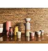 HK-Living Keramieken 70's mokken saturn - set van 6 stuks
