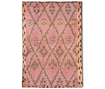 HK-Living Hand-knotted berber rug wool - 250x350cm