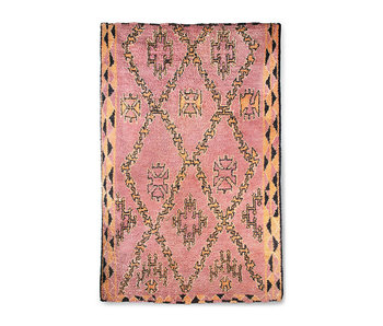 HK-Living Hand-knotted berber rug wool - 180x280cm