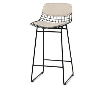 HK-Living Cushion for bar chair - sand