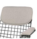 HK-Living Cushion for armchair - pebble gray