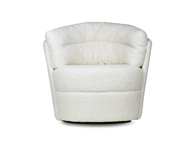 HK-Living Twister fauteuil - cream