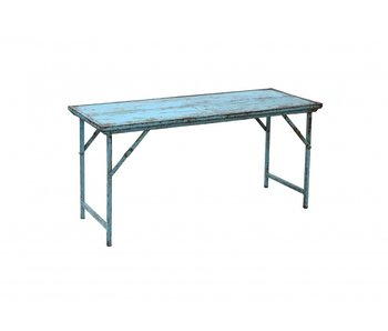 Nordal Recycled folding table - blue