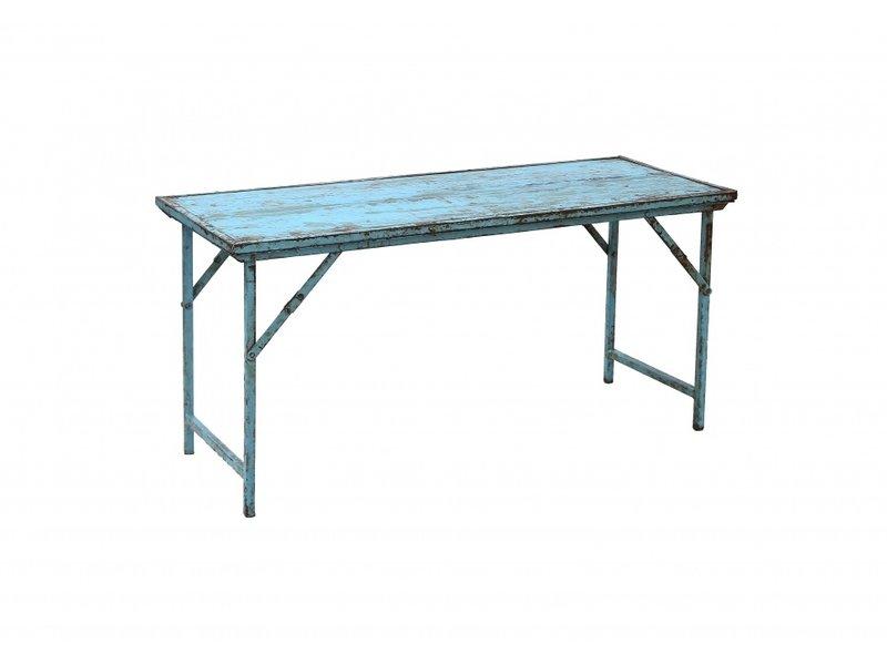 Nordal Recycelter Klapptisch - blau