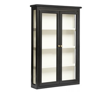 Nordal Classic wall cabinet - black