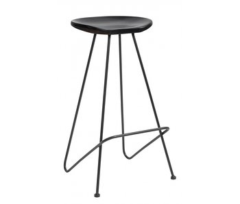 Nordal Bar stol - sort