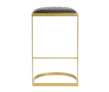 Nordal EA bar stool - black / gold