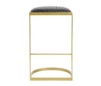 Nordal EA barstol - svart / guld