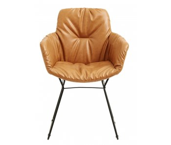 Nordal Darky chair - brown
