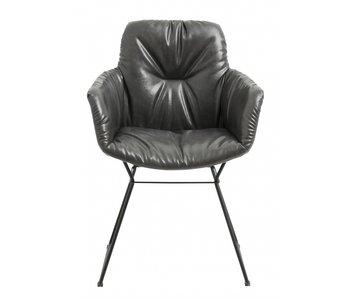 Nordal Mørk stol - sort