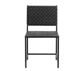 Nordal Black leather chair