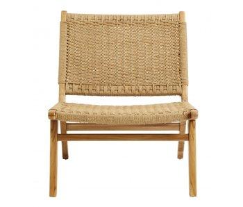 Nordal Chaise longue club - teck