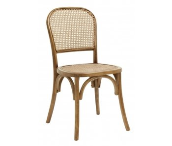 Nordal Wicky chair wicker - brown
