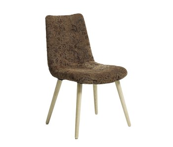 Nordal Flower dining room chair - light brown
