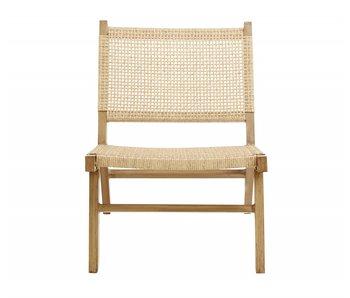 Nordal Vasai Lounge Chair - natürlich