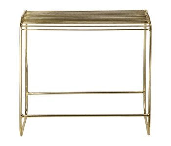 Bloomingville Metal stool gold