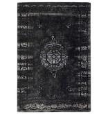 Nordal Storvävd matta - mörkgrå / svart 160x240