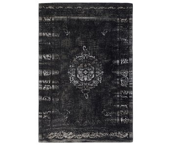 Nordal Grand woven rug - dark gray / black 160x240