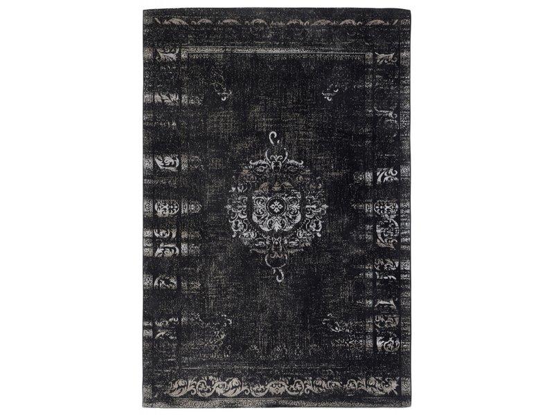 Nordal Grand geweven vloerkleed - donkergrijs/zwart 160x240