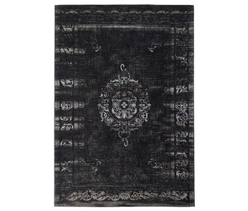 Nordal Stora vävd matta - mörkgrå / svart 200x290