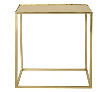Bloomingville Coffee table square brass