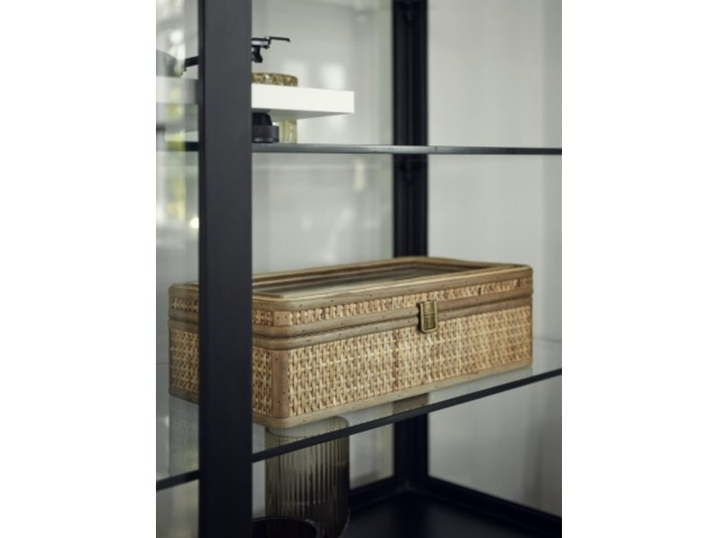 Nordal Rattan jewelry box - natural