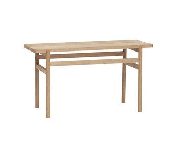 Hubsch Oak bench - natural