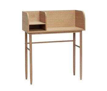 Hubsch Skrivbord trä - naturligt