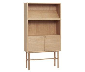Hubsch Oak wooden cabinet - natural