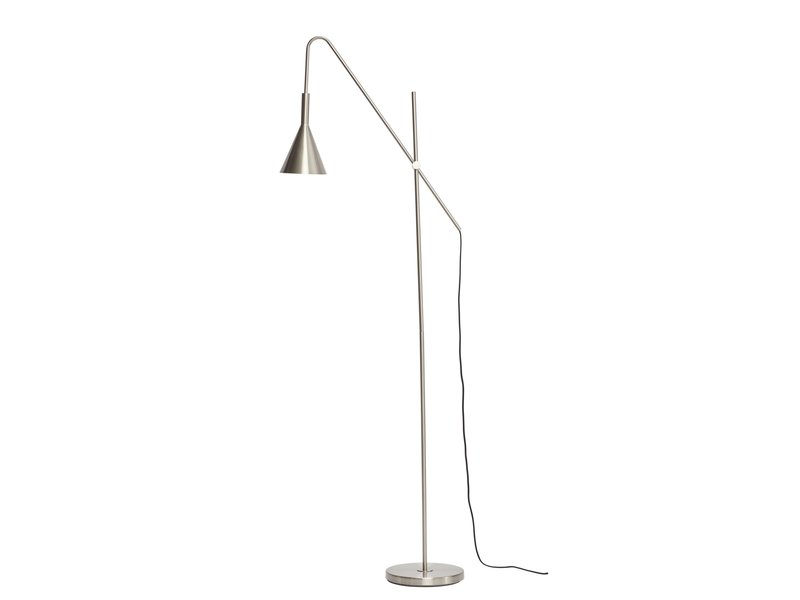 Hubsch Golvlampa - metall / silver