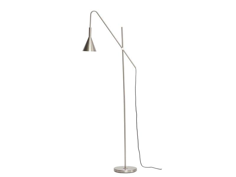 Hubsch Vloerlamp - metaal/zilver
