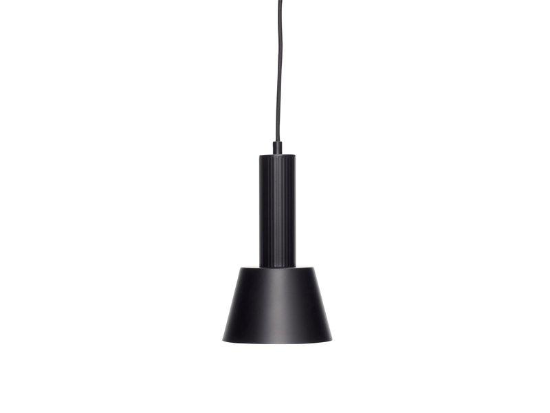 Hubsch Lampe à suspension en métal - noir