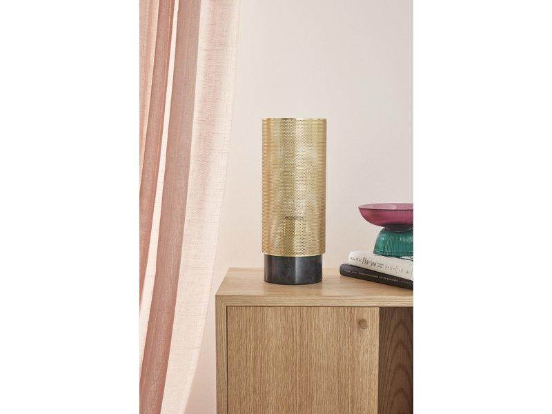 Hubsch Table lamp - brass / black