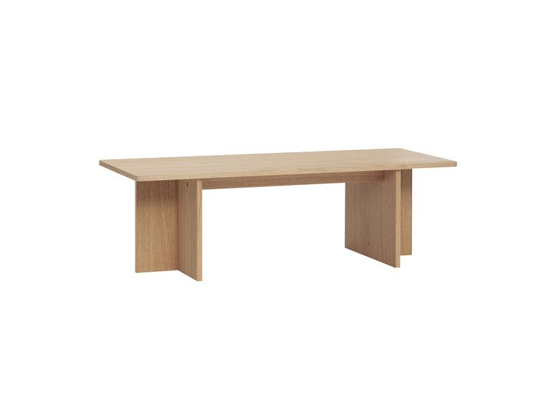 Hubsch Oak wooden coffee table - natural