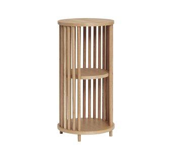 Hubsch Table d'appoint en chêne - naturel