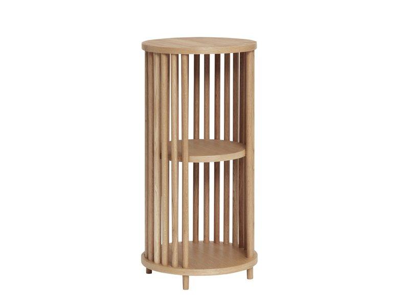 Hubsch Oak side table - natural