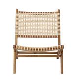 Bloomingville Keila Lounge stoel teak hout - naturel