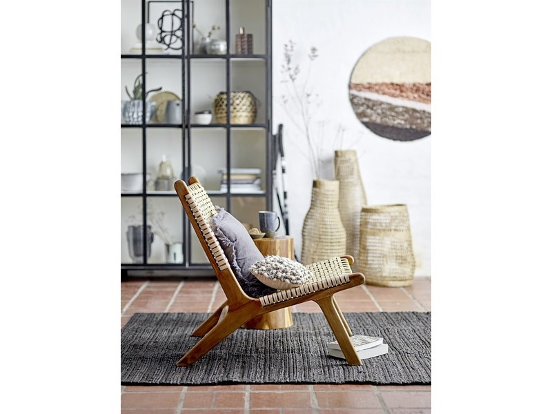 Bloomingville Keila Lounge stol teak trä - naturligt