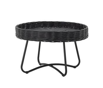 Bloomingville Hattie rattan coffee table - black